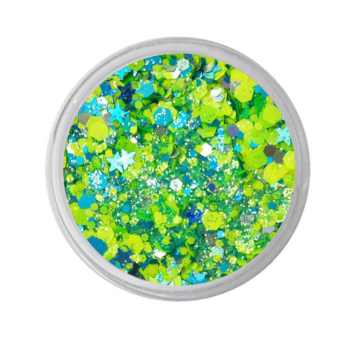 VIVID Glitter | Loose Chunky Hair and Body Glitter | Breeze (7.5gr)