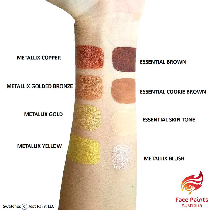 Face Paints Australia Face and Body Paint | brown Swatch
