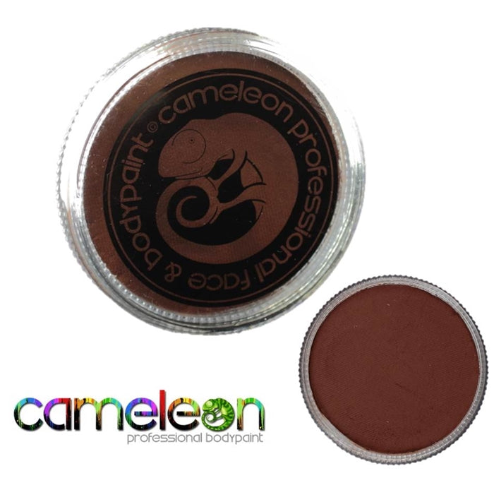 Cameleon Face Paint - Baseline Coffee Brown 32gr (BL3012) - Jest Paint Store