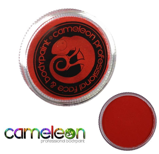 Cameleon Face Paint - Baseline Fire Red 32gr (BL3001) - Jest Paint Store