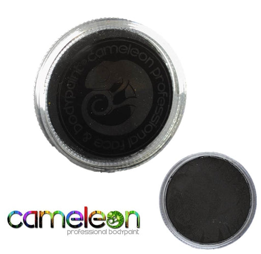 Cameleon Face Paint - Baseline Strong Black 32gr (BL3013) - Jest Paint Store