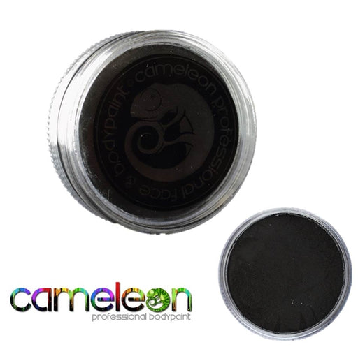 Cameleon Face Paint - Baseline Strong Black 45gr (BL4016) - Jest Paint Store