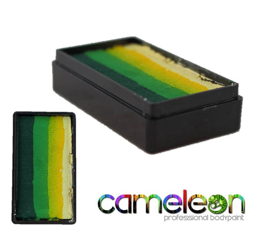 Cameleon Face Paint ColorBlock - Fresh Grass 30gr - Jest Paint Store