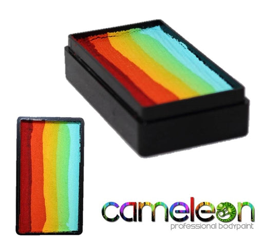 Cameleon Face Paint ColorBlock - Rainbow WOW 30gr - Jest Paint Store