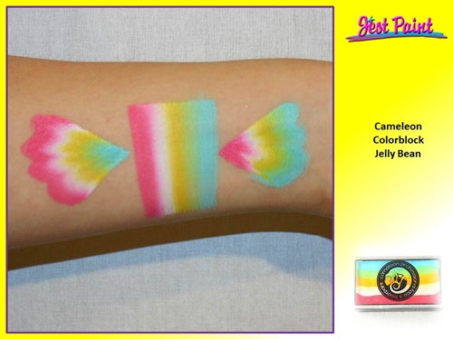 Cameleon Face Paint ColorBlock - Jelly Bean 30gr - Jest Paint Store - Swatch