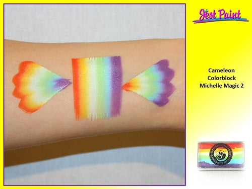 Cameleon Face Paint ColorBlock - Michelle Magic 2 30gr - Jest Paint Store