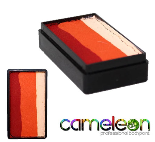 Cameleon Face Paint ColorBlock - African Sunset 30gr - Jest Paint Store