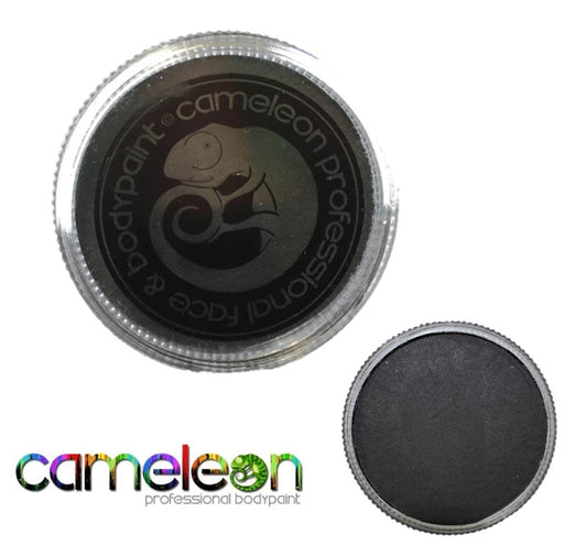 Cameleon Face Paint - Metal Black (Gothic Black) 30gr (ML3001) - Jest Paint Store