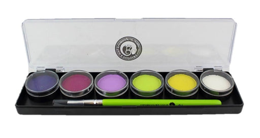 Cameleon Face Paint - 6 Color Small Bubble Box Palette - Jest Paint Store