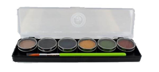 Cameleon Face Paint - 6 Color Small Scare Me Palette - Jest Paint Store