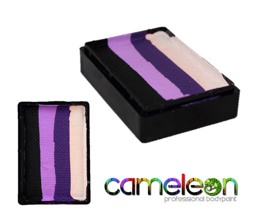 Cameleon Face Paint Wide ColorBlock - Bat Girl 30gr