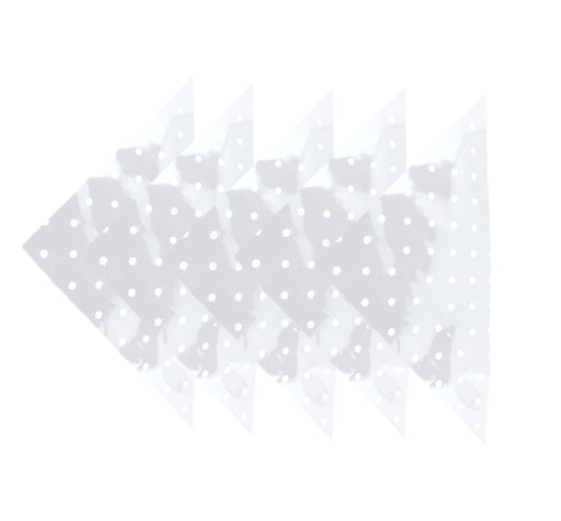 Cellophane Triangles - 5 Pack