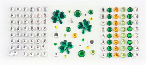 Jest Jewelz - St. Patrick's Day Gems (Peel and Stick -Approx 119 Pcs.) DISCONTINUED - Jest Paint Store