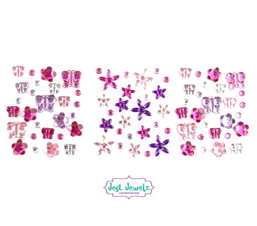 Jest Jewelz - Flowers and Butterflies (Peel and Stick) - Jest Paint Store