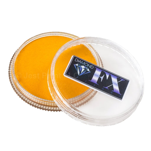 Diamond FX Face Paint Essential - Golden Yellow 30gr - Jest Paint Store