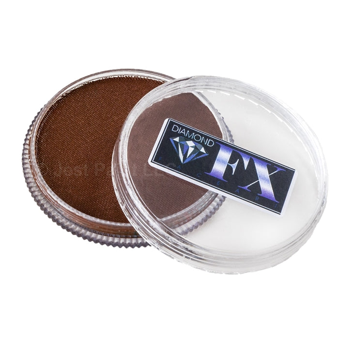 Diamond FX Face Paint Essential - Light Brown (1018) 30gr - Jest Paint Store