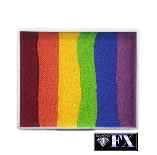DFX Face Paint Rainbow Cake - Large Flabbergasted (RS50-5) 50gr  #5 - Jest Paint Store