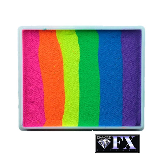 DFX Paint Rainbow Cake - Large Neon Nights (RS50-7) 50gr #7 - Jest Paint Store