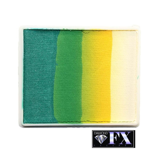 DFX Face Paint Rainbow Cake - Large Mother Africa (RS50-93) #14 - Jest Paint Store