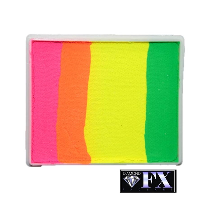 DFX Paint Rainbow Cake - Large Raving Rio (RS50-95) #15 - Jest Paint Store