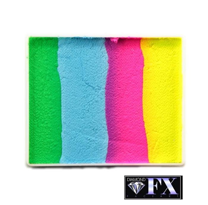 DFX Paint Rainbow Cake - Large Happy Birthday (RS50-98) #18 - Jest Paint Store