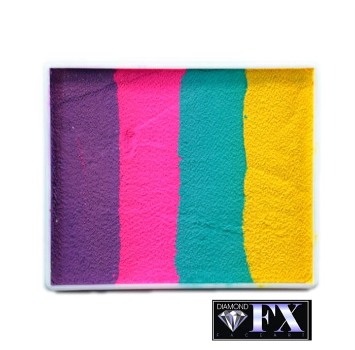 DFX Paint Rainbow Cake -  Large Tropic Topic (RS50-97) #19 - Jest Paint Store