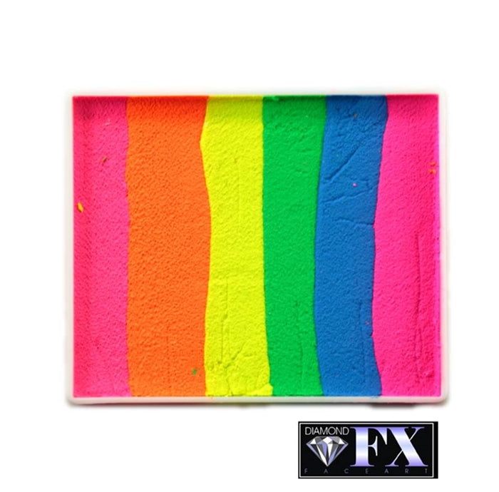 DFX Paint Rainbow Cake - Large Color Splash (RS50-24)  #24 - Jest Paint Store