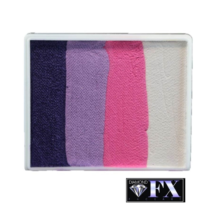 DFX Face Paint Rainbow Cake - Large Cotton Candy (RS50-9) #9 - Jest Paint Store