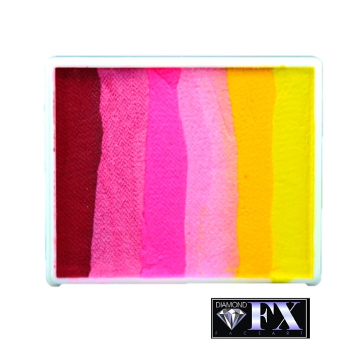 DFX Face Paint Rainbow Cake - Large Wild Berry (RS50-83) #27 - Jest Paint Store