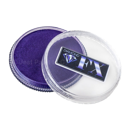 Diamond FX Face Paint - Metallic Purple 30gr - Jest Paint Store