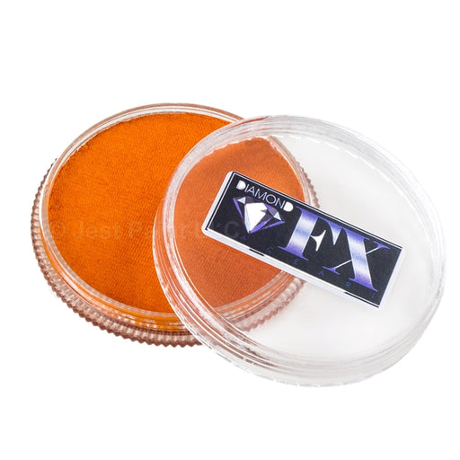 Diamond FX Face Paint - Metallic Orange 32gr - Jest Paint Store