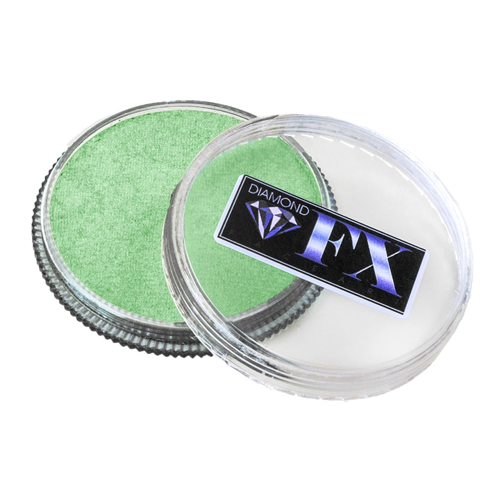 Diamond FX Face Paint - Metallic Beetle Green 30gr - Jest Paint Store