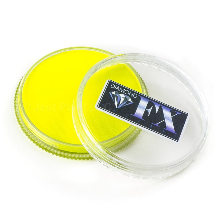 Diamond FX Paint - Neon Yellow 32gr - Jest Paint Store