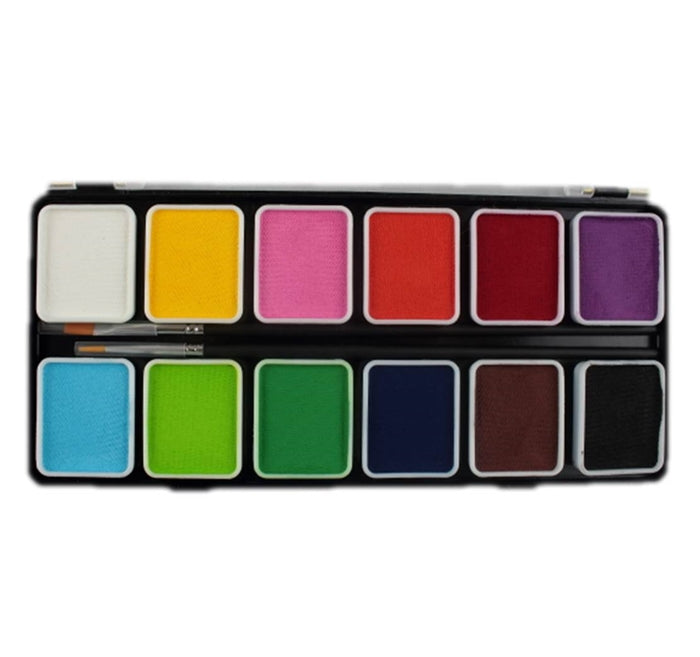 Face Painting Palette Diamond Fx Small 12 Essential