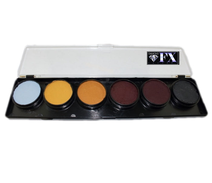 Diamond FX Face Paint - 6 Color Beast Palette - Jest Paint Store