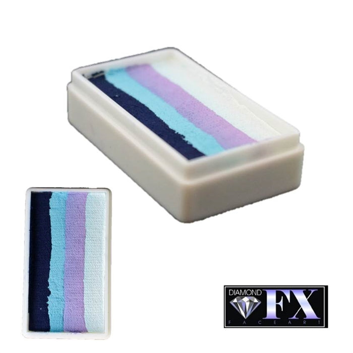 DFX Face Paint Rainbow Cake - Small Monsoon (RS30-1) 30gr #1 - Jest Paint Store