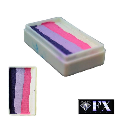 DFX Face Paint Rainbow Cake - Small Cotton Candy (RS30-9) 28gr #9 - Jest Paint Store