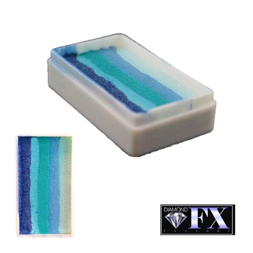 DFX Face Paint Rainbow Cake - Small Blueberry Hill (RS30-11) 30gr #11 - Jest Paint Store