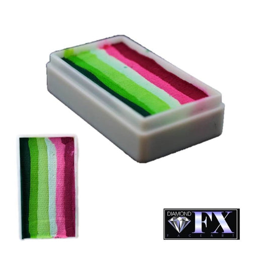DFX Face Paint Rainbow Cake - Small Mega Melon (RS30-16) 28gr #16 - Jest Paint Store
