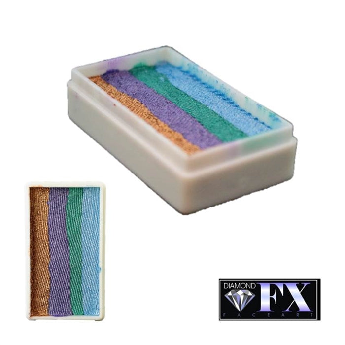 DFX Face Paint Rainbow Cake - Small Night Fall (RS30-22) 28gr #22 - Jest Paint Store