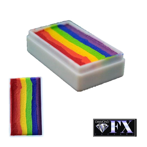 DFX Face Paint Rainbow Cake - Small Flabbergasted (RS30-5) 30gr #5 - Jest Paint Store