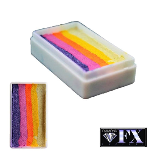 DFX Special Effects Paint Rainbow Cake - Small Island Fever (RS30-25) 28gr #25 - Jest Paint Store