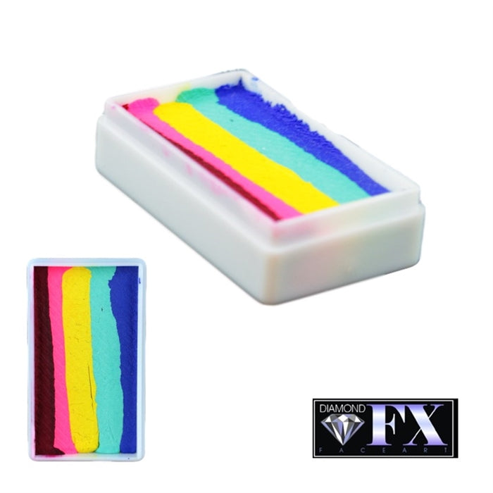 DFX Paint Rainbow Cake - Small Real Rainbow (RS30-60) 30gr #37 - Jest Paint Store