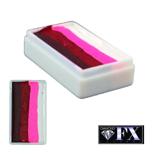 DFX Special Effects Paint Rainbow Cake - Small Evil Rose (RS30-55) 28gr #29 - Jest Paint Store