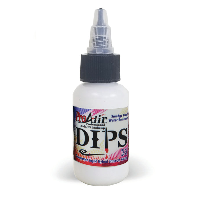 DIPS Water Proof Face Paint White - 1fl oz