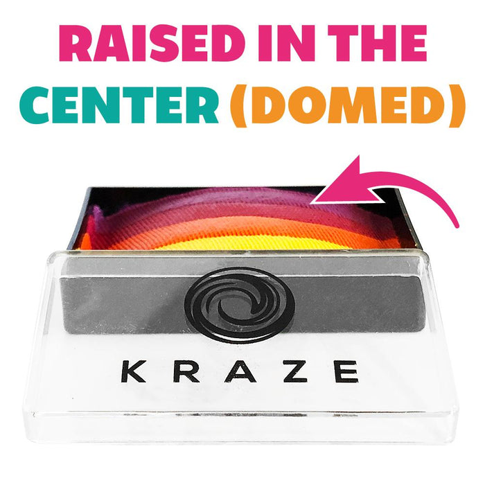 Kraze FX Paints | Domed 1 Stroke Cake - Royal Sunset 25gr DOMED