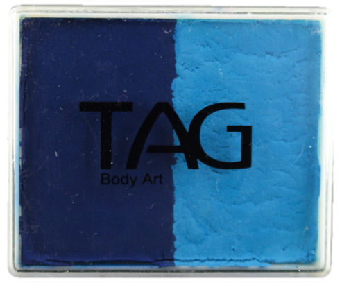 TAG Face Paint Split - EXCL Light Blue and Dark Blue  50gr  #5 - Jest Paint Store