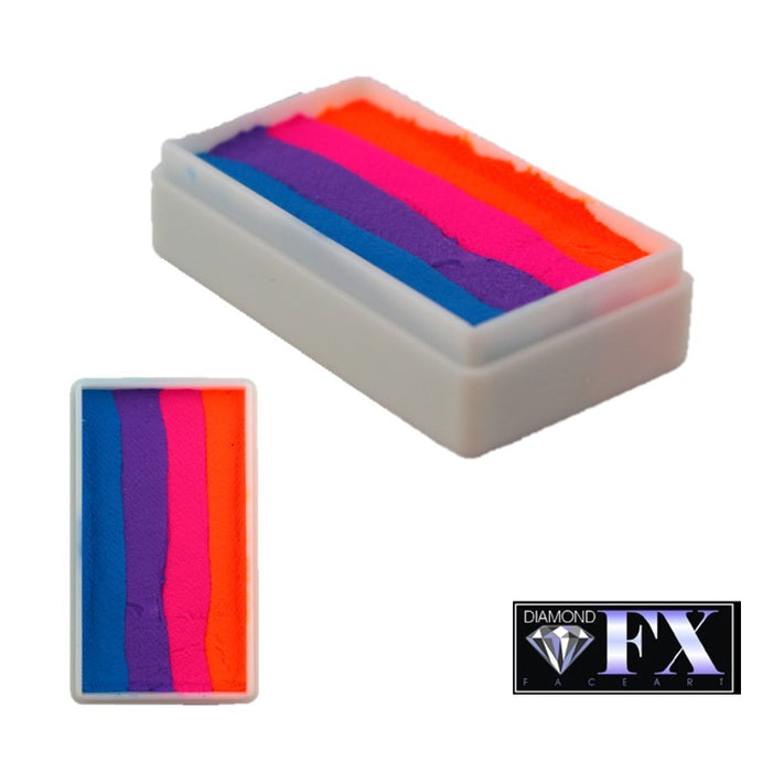 DFX Face Paint Rainbow Cake - Neon Sun (RS30-69) 28gr #36