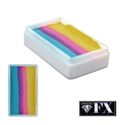 DFX Face Paint Rainbow Cake - Hawaiian Cocktail (RS30-73) 28gr #20 - Jest Paint Store
