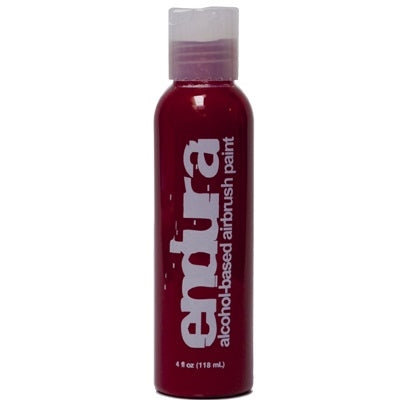 Endura Alcohol-Based Airbrush Body Paint - Red - 4oz - Jest Paint Store